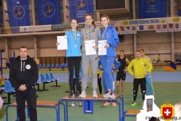 Костопільські легкоатлети привезли золото із зимового чемпіонату