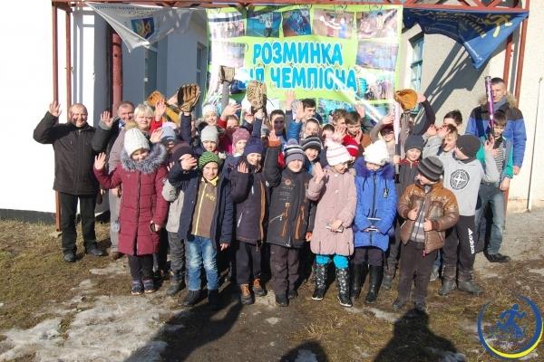 «Розминка від чемпіона» відбулась у Мирогощанській ОТГ (Фото)
