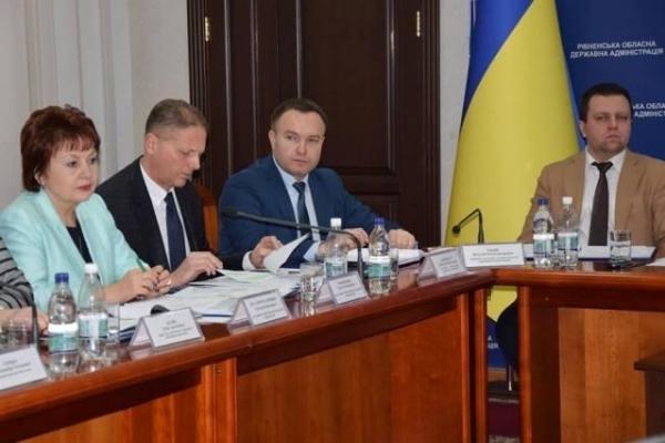 На колегії ОДА підсумували роботу районів та міст Рівненщини за 2018 рік
