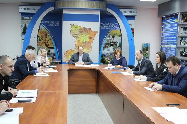 На Рівненщині підсумували роботу антирейдерського штабу в 2018 році