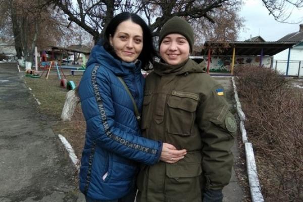 «Пишаюся своєю донькою» – мама нацгвардійки Олександри Ковальчук