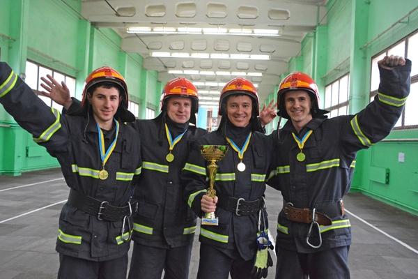 Вогнеборці РАЕС – кращі в області