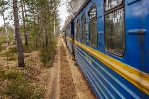 На вузькоколійці Антонівка-Зарічне зловмисники перешкодили руху поїзда