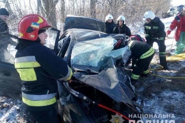 На трасі «Київ-Чоп» внаслідок ДТП загинули три особи