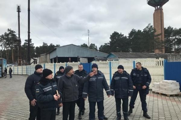 Рівненські рятувальники провели відпрацювання документів оперативного реагування
