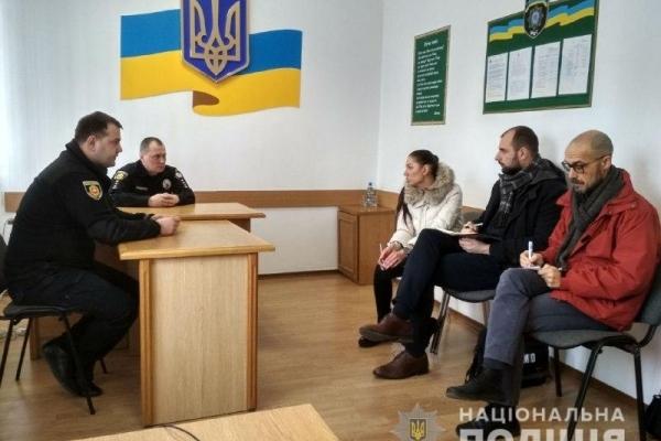 Керівництво поліції Рівненщини зустрілося з іноземними спостерігачами
