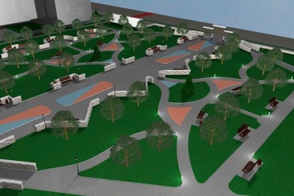 У міській раді представили план щодо реконструкції Костопільського парку