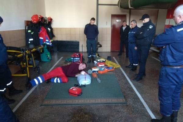 Рятувальники Гощанщини вивчали правила надання першої допомоги
