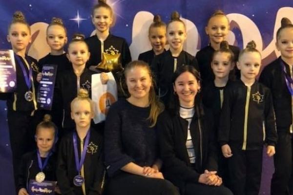 Рівненські гімнастки успішно виступили на змаганнях у Миколаєві