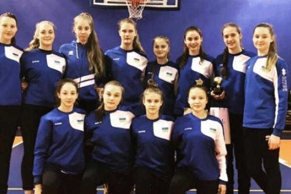 Баскетболістки з Рівного зіграли у складі збірної України