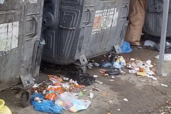 У Рівному не відбувається вчасне прибирання сміттєвих баків