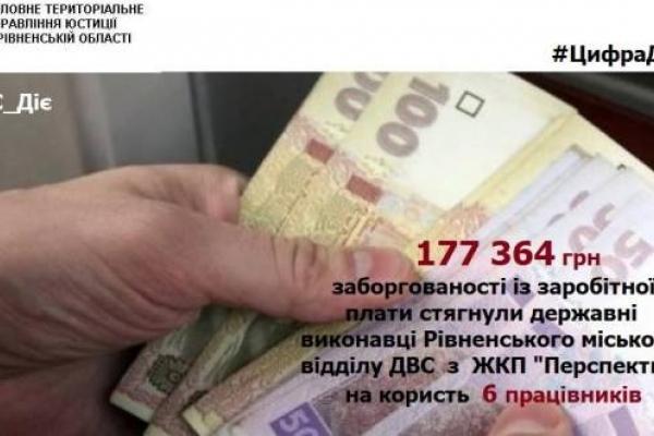 Рівненським комунальникам повернули заборговану заробітну плату