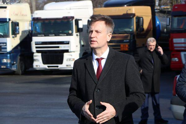 Валентин Наливайченко у Рівному зустрівся з робітниками підприємства