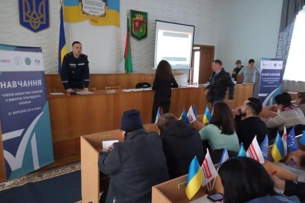Рятувальники Рівненщини піклуються про безпеку на виборчих дільницях