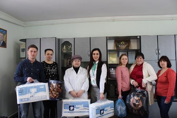 До вихованців Мирогощанського будинку-інтернату завітали співробітники РСЦ  МВС Рівненщини