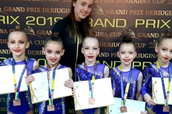 Рівненські гімнастки успішно позмагалися за «Кубок Дерюгіної»