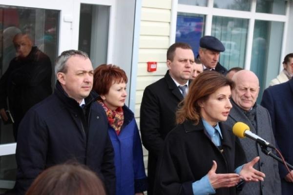 На Рівненщині відкрили ще одну амбулаторію, яку побудували за президентською програмою