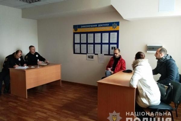 Спостерігачі Європейської мережі «ENEMO» спілкувалися з рівненськими поліцейськими