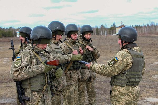 На Рівненщині підрозділ ПвК «Захід» відпрацьовував навички з вогневої підготовки