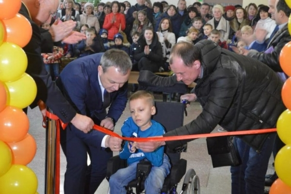 Новий інклюзивно-ресурсний центр відкрили у Млинівській ОТГ (Фото)