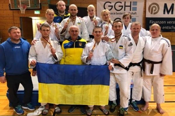 Дзюдоїсти з Рівненщини здобули шість нагород у міжнародному турнірі