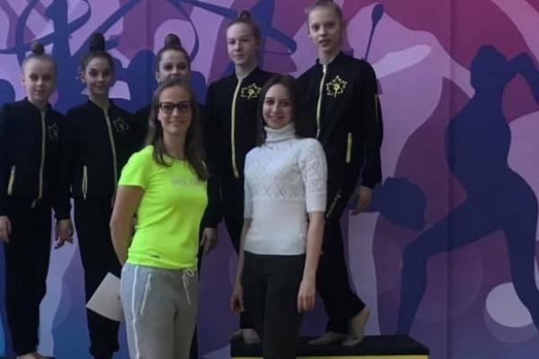 Рівненські гімнастки потрапили в сімку кращих на Чемпіонаті України
