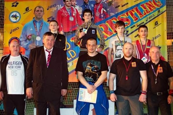 Костопільчанин виборов «золото» на чемпіонаті України з греко-римської боротьби