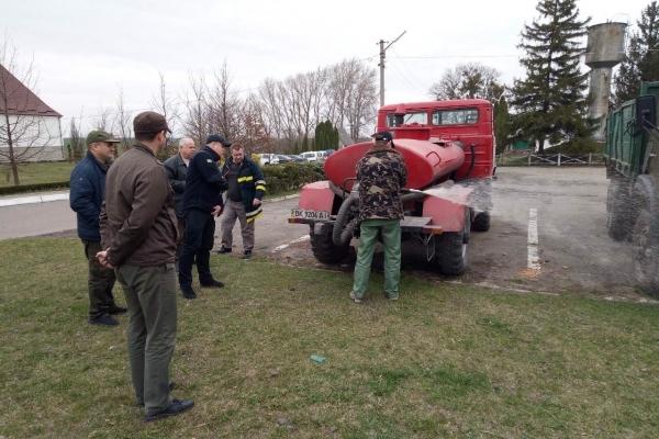 На Острожчині рятувальники перевірили готовність до оперативного реагування та лісових пожеж
