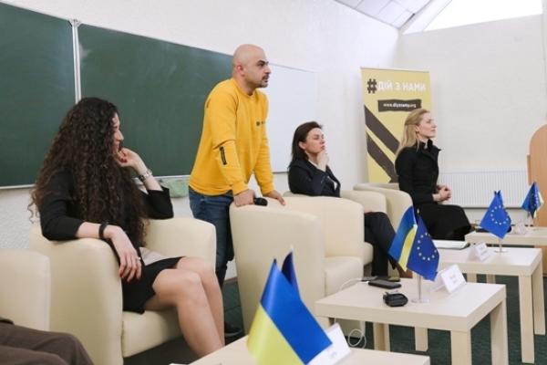Представники громадського руху #дійзнами відвідали Рівне, Острог та Луцьк