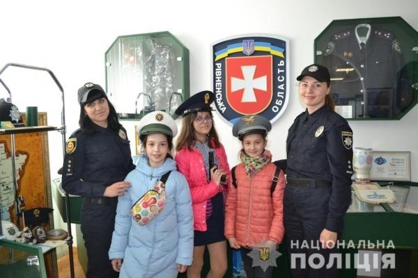 Рівненські школярі здобули нові знання у поліції