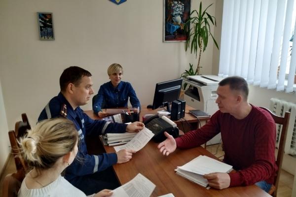 На Здолбунівщині було проведено спільну нараду РС ГУ ДСНС та центру надання адміністративних послуг