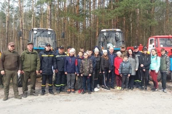 На Костопільщині проведено перевірку готовності лісокористувачів до пожежонебезбечного періоду