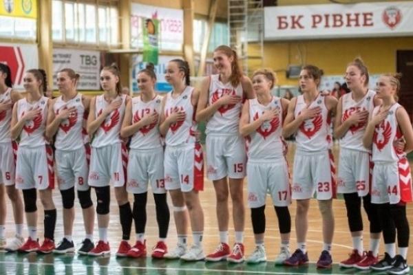 Рівненська жіноча команда БК «Рівне» здобула п'яте місце на регулярному чемпіонаті