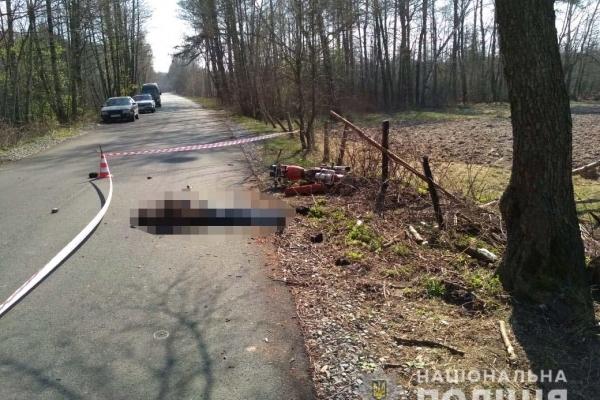 На Зарічненщині у ДТП загинув мотоцикліст