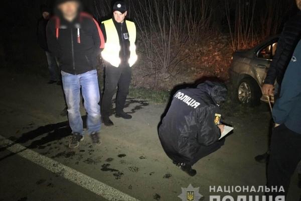 Поблизу Рівного затримали нетверезого водія «BMW» на іноземній реєстрації (Фото, відео)