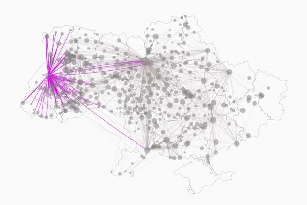 Мінінфраструктури України запустило інтерактивну карту з 4000 міжобласних і міжнародних автобусних маршрутів