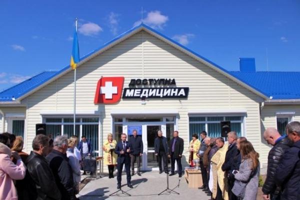 На Гощанщині відкрили нову медичну амбулаторію