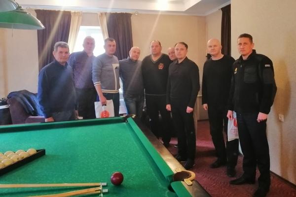 У Рівному завершився турнір із класичного більярду серед ветеранів пожежної охорони