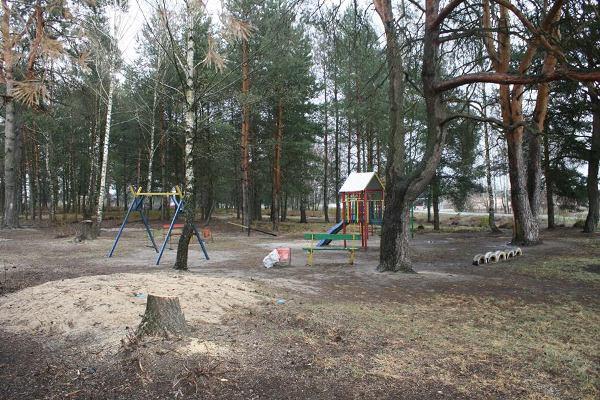 У селі Старі Коні Зарічненського району на місці захламленому пластиком спорудили дитячий майданчик