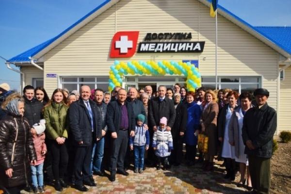 Нова сучасна амбулаторія запрацювала у селі Пісків Костопільського району