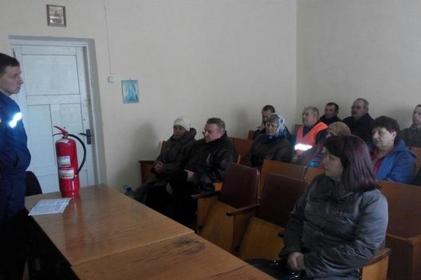 У Дубно рятувальники провели профілактичну бесіду з працівниками КП ЦЖЕО «Житловик»