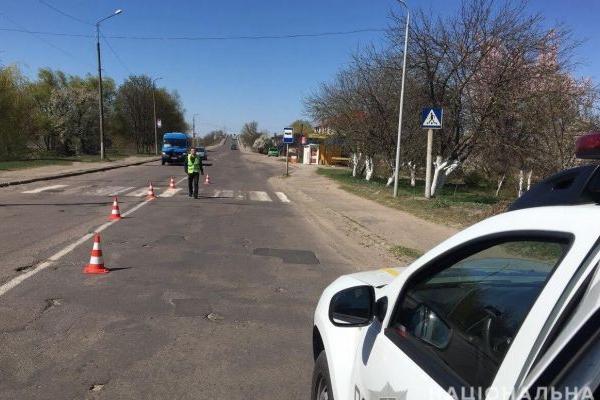 У Сарнах водій збив пішохода і втік