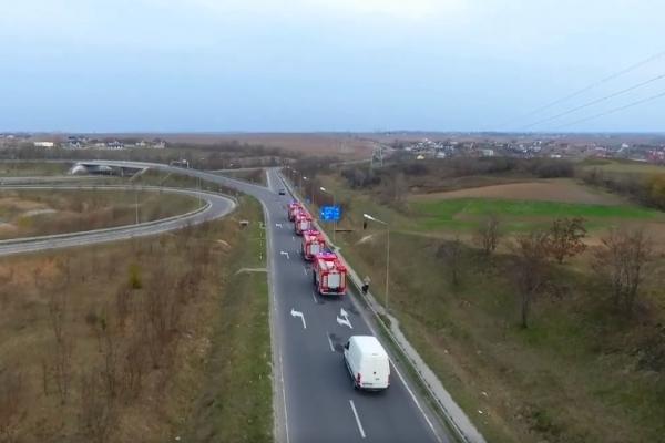 Рівненеські рятувальники отримали сучасну пожежно-рятувальну техніку (Відео)