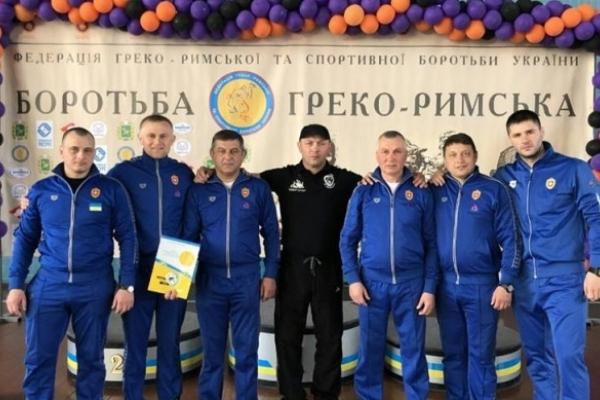 Збірна Рівненщини зайняла друге місце на змаганні з греко-римської боротьби