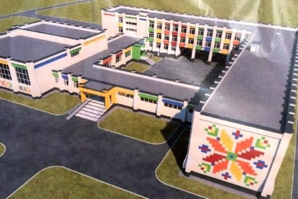 Велетенська школа-вишиванка з'явиться у Костополі