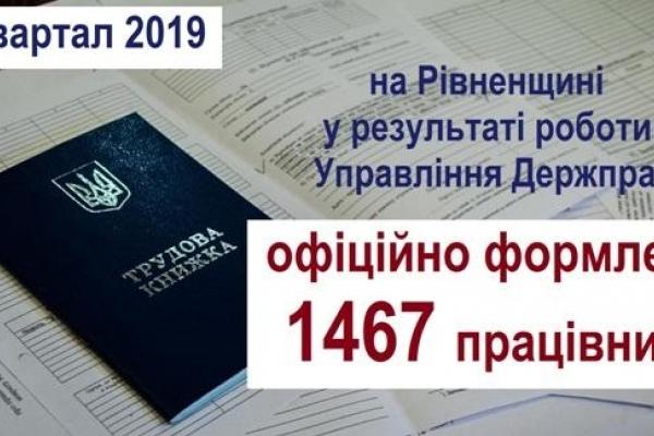 На Рівненщині працевлаштували майже 1500 громадян
