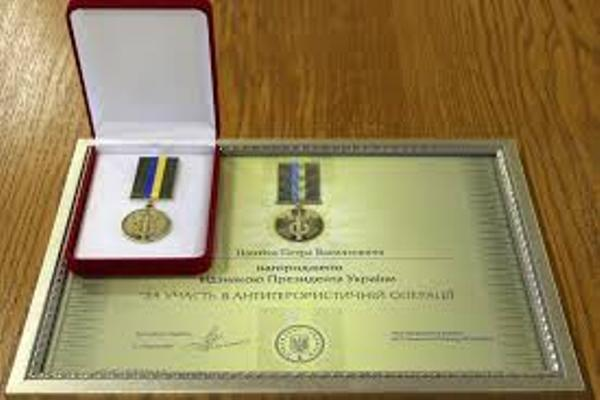 Відзнакою Президента України нагороджений солдат з Рівненщини Святослав Стегней