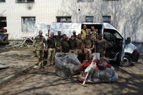 Великодня доброчинна ініціатива міжрайонної спілки ветеранів АТО на Млинівщині