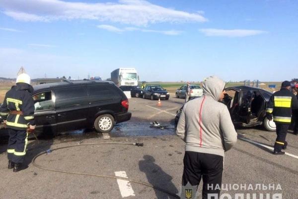 Неподалік села Корнин у ДТП постраждали троє осіб