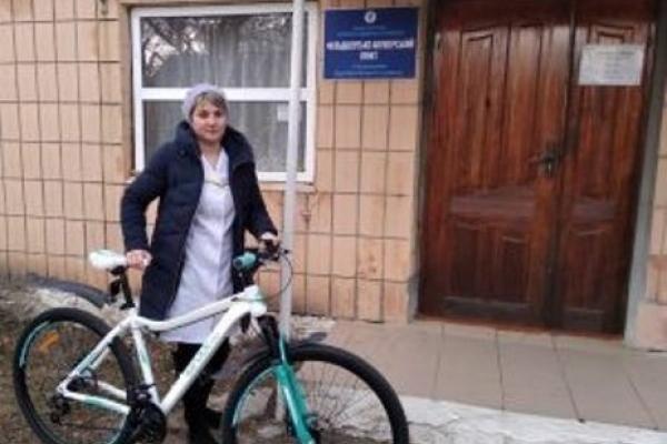 На Здолбунівщині медиків вже садять на велосипеди